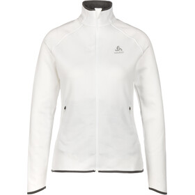 Odlo Carve Ceramiwarm Full-Zip Midlayer Damen white